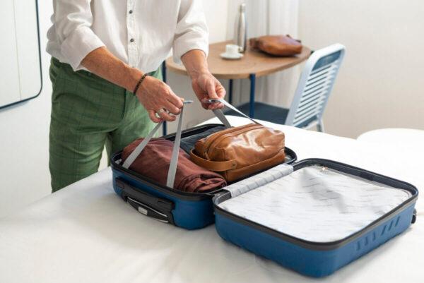 Saiba o que você pode levar na mala de bordo