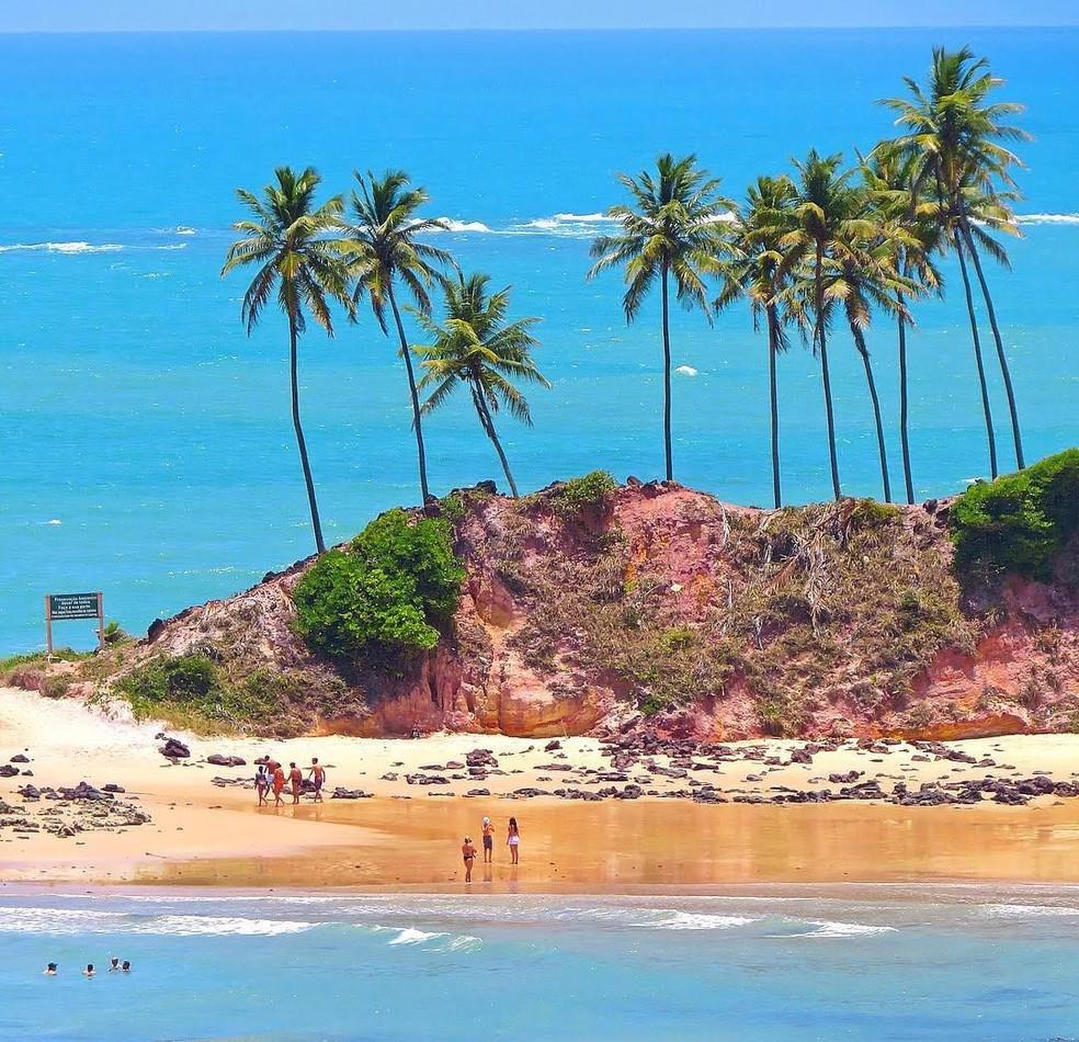 Foto da Praia de Tabatinga
